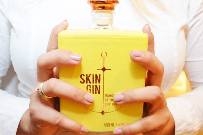 ginlicious Skin Gin Sommeredition gelb